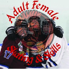 Adult Female Skating, Skills & Scrimmage - Spring